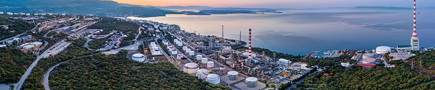 INA plin - rafinerija na Rijeki