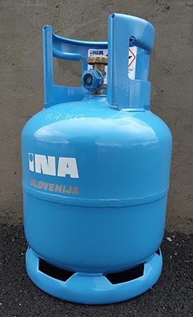 plinska jeklenka 5 kg